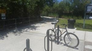 26. Bike Trail turnout point