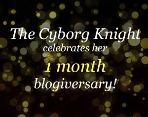 1 month Blogiversary