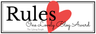 Rules - One Lovely Blog Award