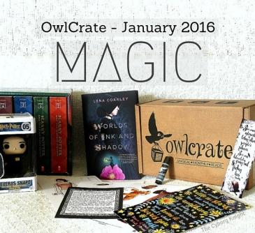 27. OwlCrate January 2016